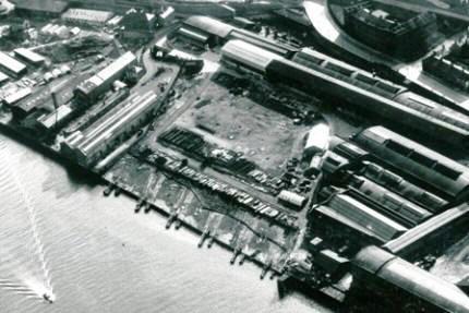 LowWalkerYard circa 1950