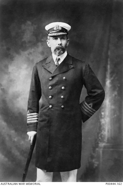 Captain William Rooke Creswell, as Naval Commandant Queensland, 1900